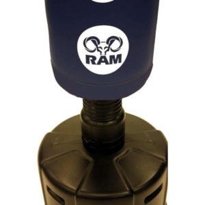 RAM C staande bokszak met scoring zones blauw